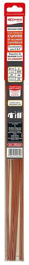 Baguettes de Brasure Réf. 502820