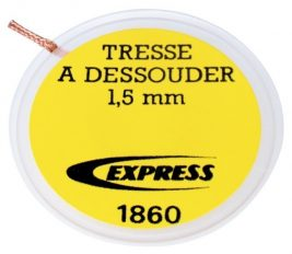 Tresse à dessouder Réf. 1860