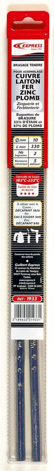 Baguettes de brasure Réf. 1933
