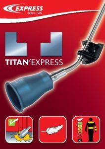 L'argumentaire de la gamme Titan'Express