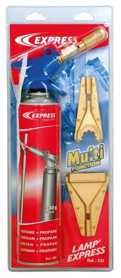 Lampe à souder Lamp' Express Multifonctions Réf. 531 sous blister
