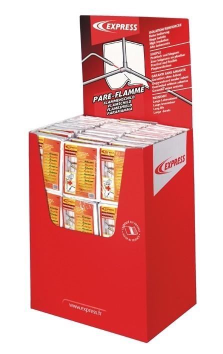 Présentoir protection thermique Pare' Flam Réf. 5453