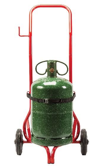 Chariot porte-bouteille Réf. 666 avec une bouteille