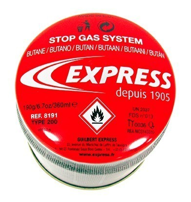 Cartouche de gaz butane Réf. 8191