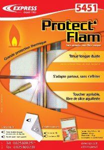 L'argumentaire des protections thermiques Protect'Flam Réf. 5451