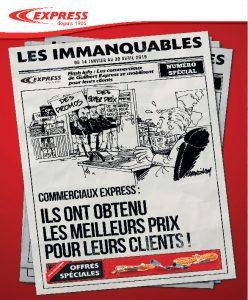 Les immanquables 2019 de Guilbert Express