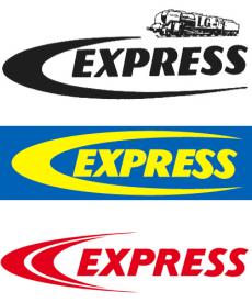 Les différents logo de l'entreprise Guilbert Express