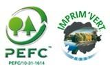 Logo PEFC et Imprim'Vert