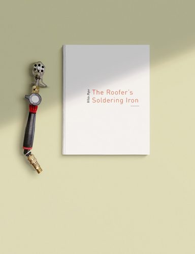 White book - TRhe roofer's soldering iron